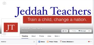 Jeddah Teachers Facebook page