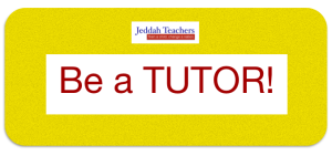 Be a tutor!
