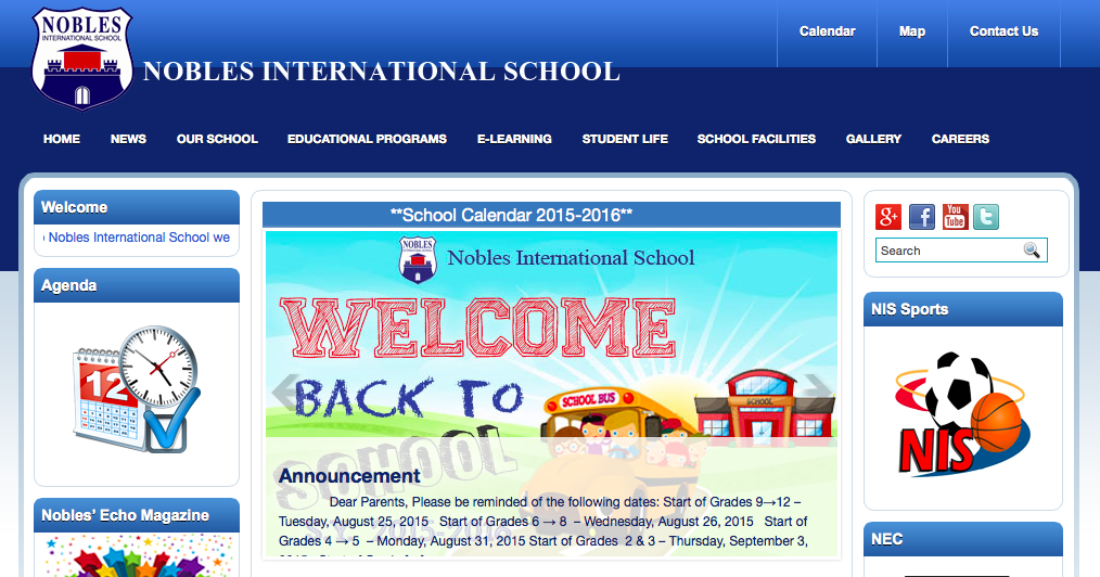 JOB OPPORTUNITIES: Nobles International School